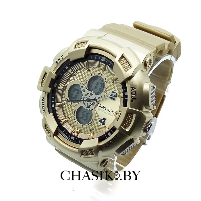 Мужские наручные спортивные часы Omax (AD0935GD)