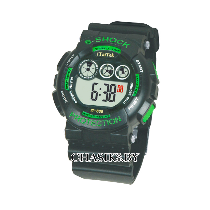 Мужские спортивные наручные часы iTaiTek (8350162)