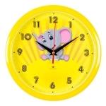 """Часы настенные """"Слоненок"""" 2222-102"""